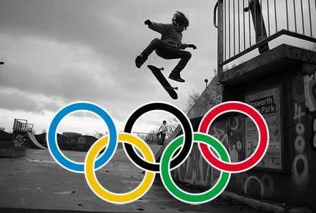 Skateboard-Olimpico
